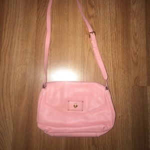 Marc by Marc Jacobs Pink leather side bag